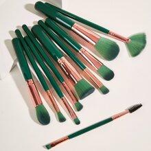 10 Stuecke Makeup Pinsel Set