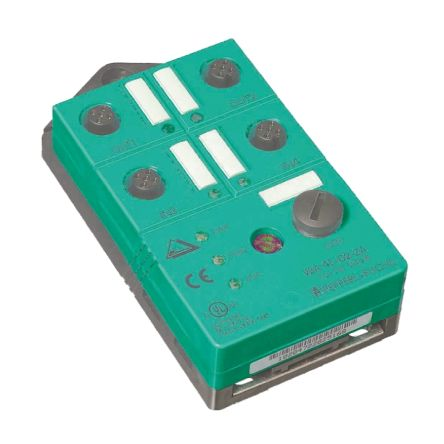 Pepperl + Fuchs PLC I/O Module - 4 Inputs, 21 → 31 V