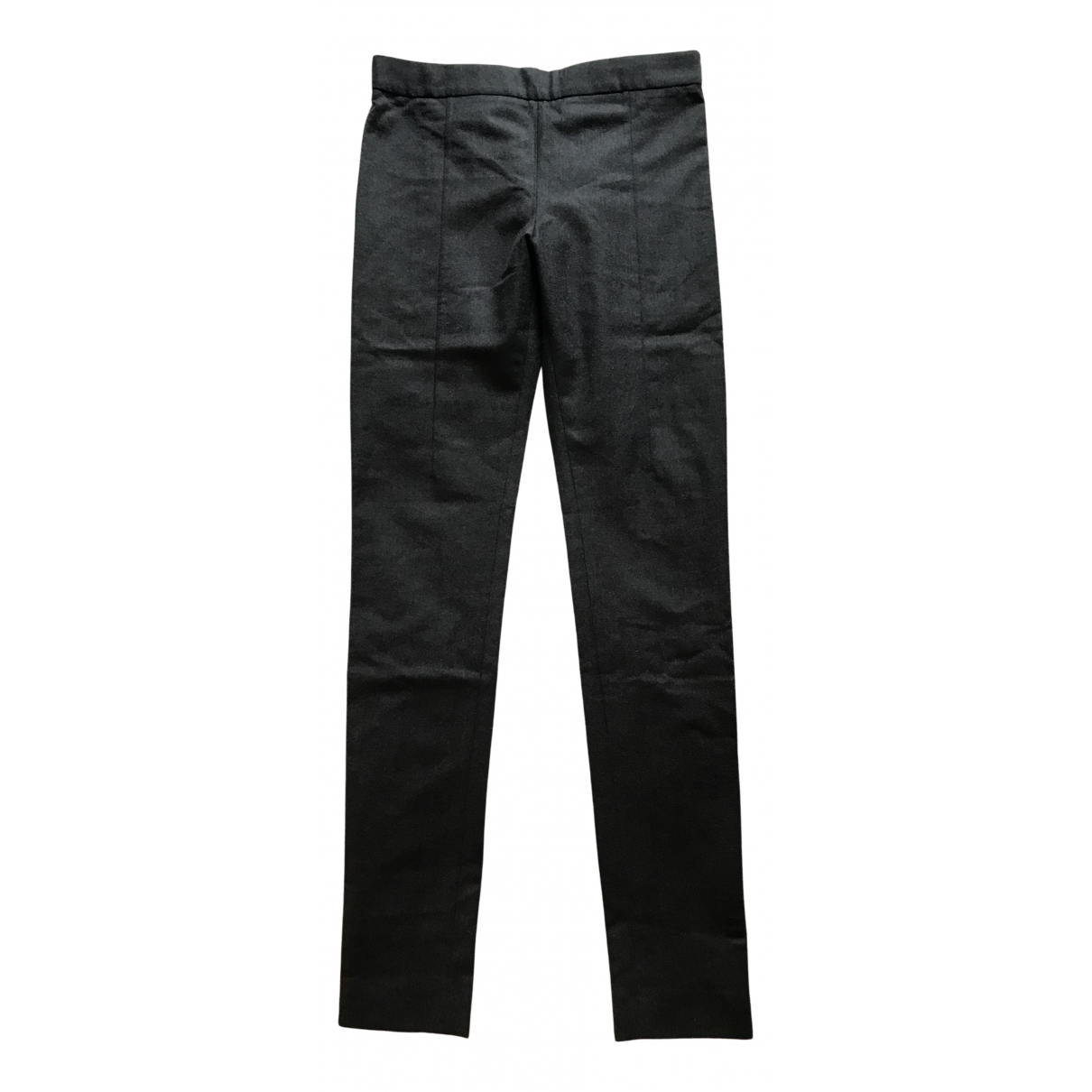 Acne Studios N Anthracite Wool Trousers for Women 36 FR