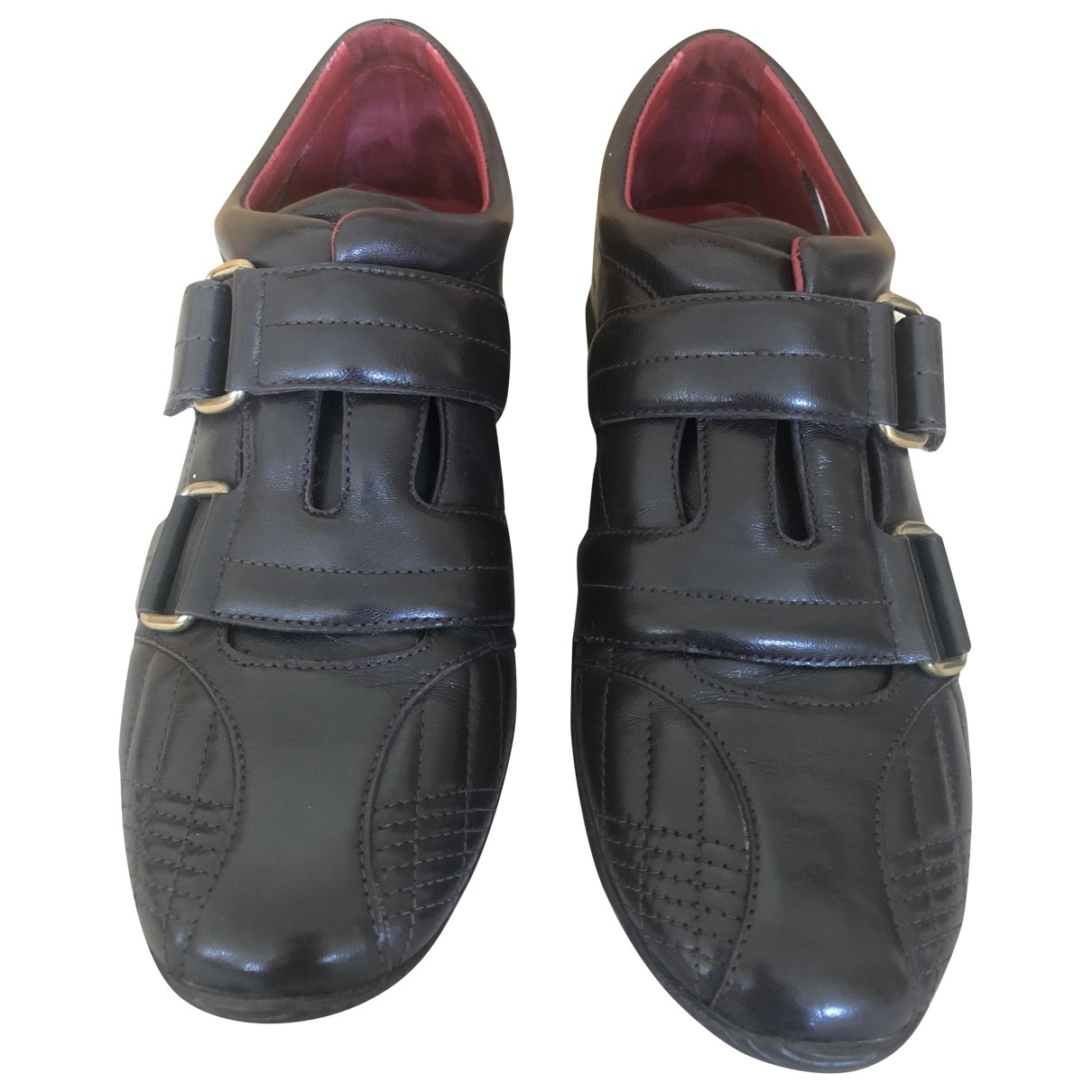 Bally \N Brown Leather Trainers for Women 35 EU
