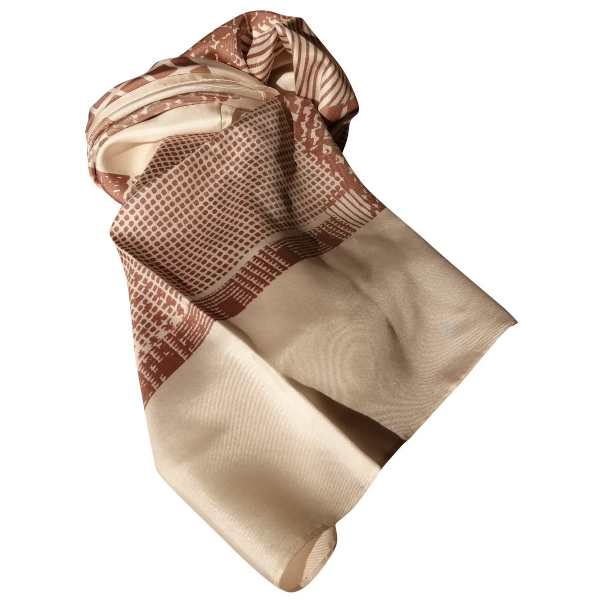 Dior \N Schal in  Beige Seide