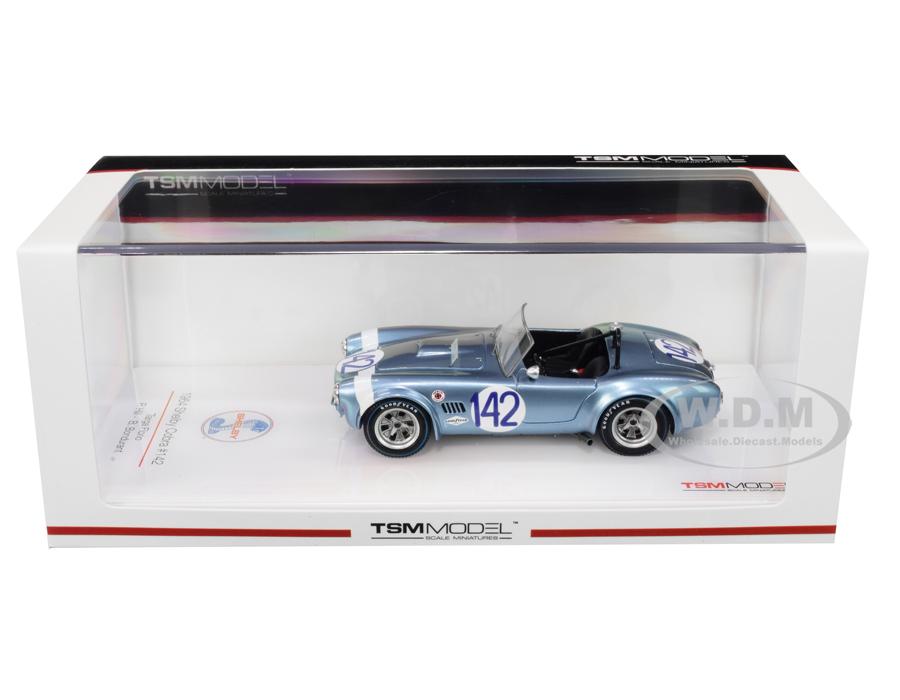 Shelby Cobra 142 Phil Hill - Bob Bondurant Targa Florio (1964) 1/43 Model Car by True Scale Miniatures