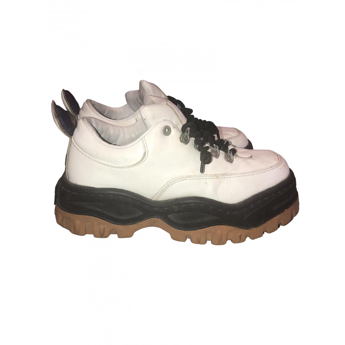Eytys \N Sneakers in  Weiss Leder