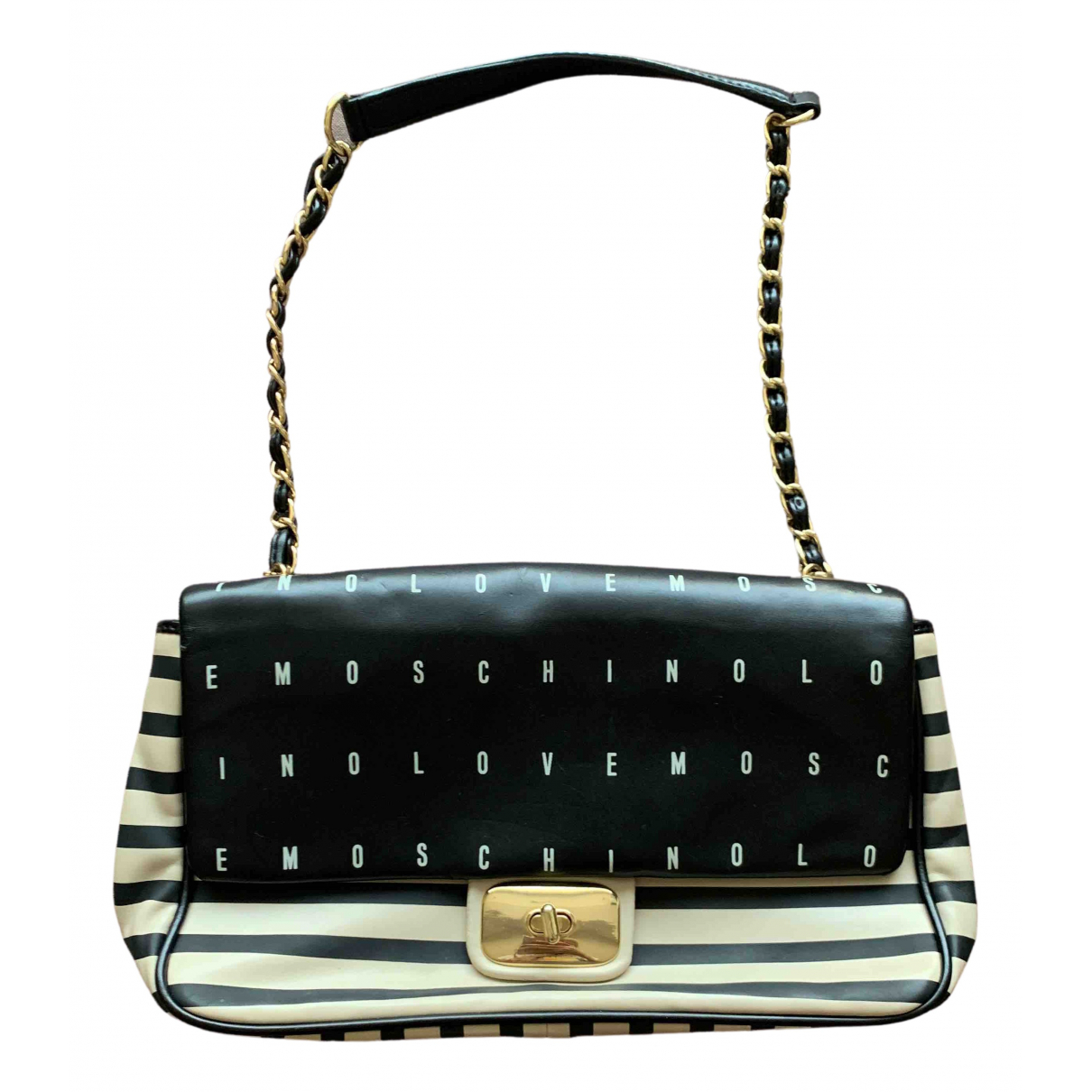Moschino \N Handtasche in  Schwarz Polyester