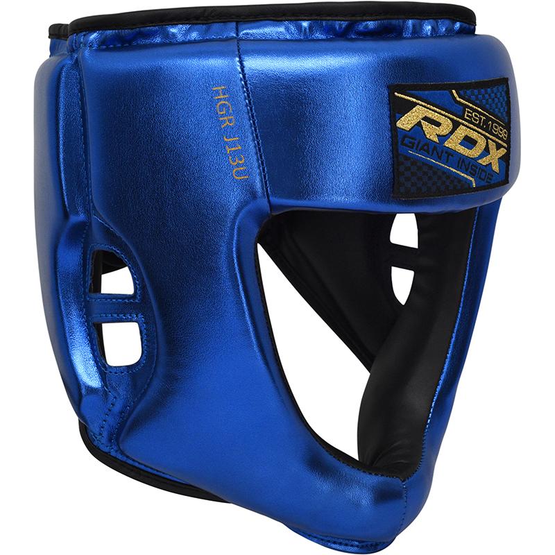 RDX J13 Kinder Boxen Kopfschutz Blau