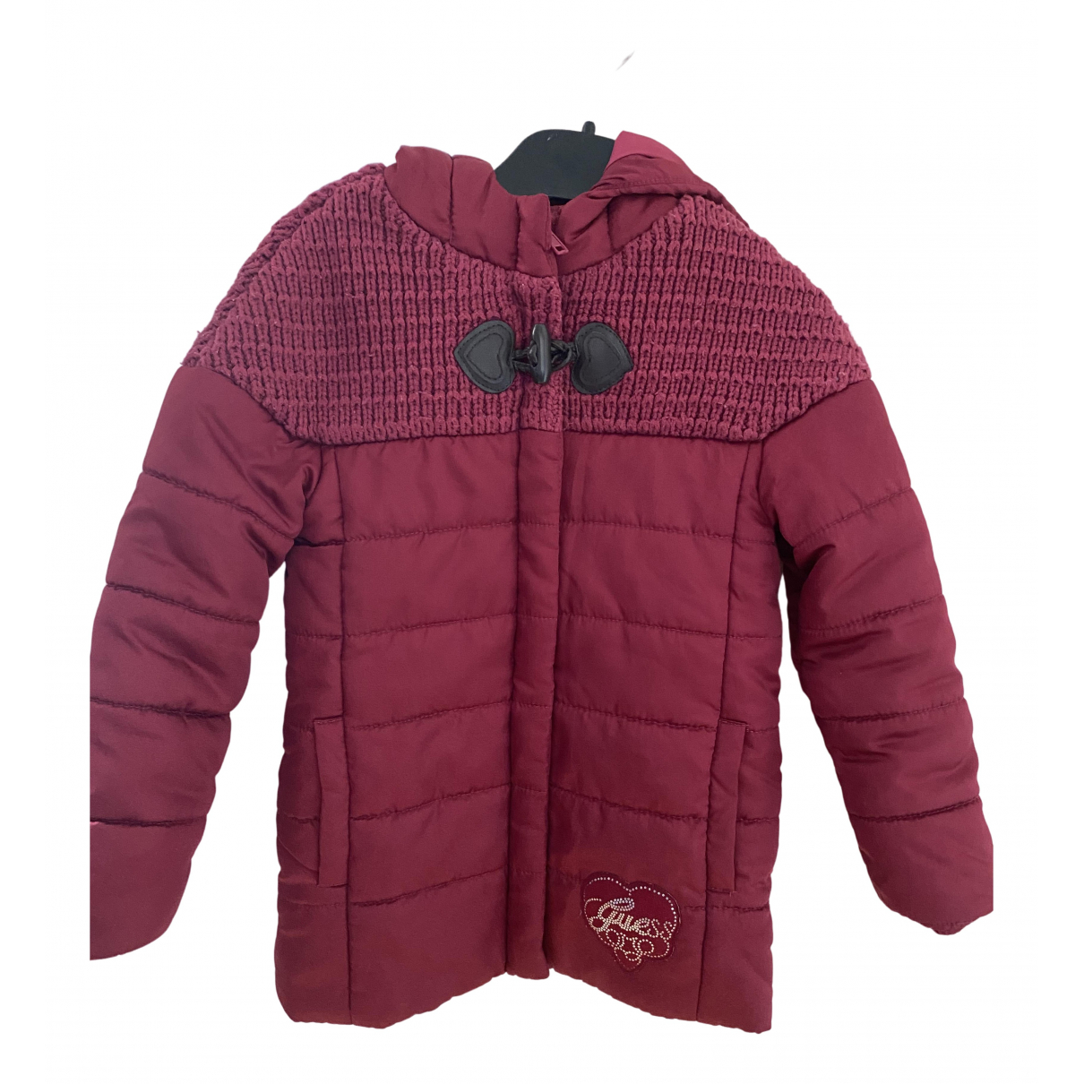 Guess \N Jacke, Maentel in  Rot Polyester