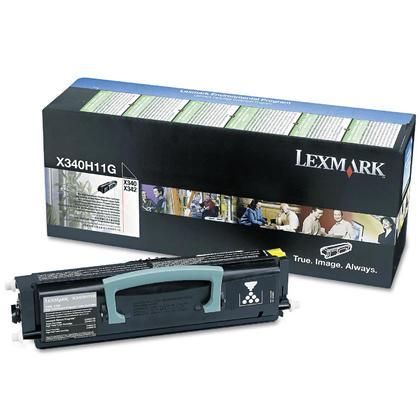 Lexmark X340H11G Original Black Return Program Toner Cartridge High Yield