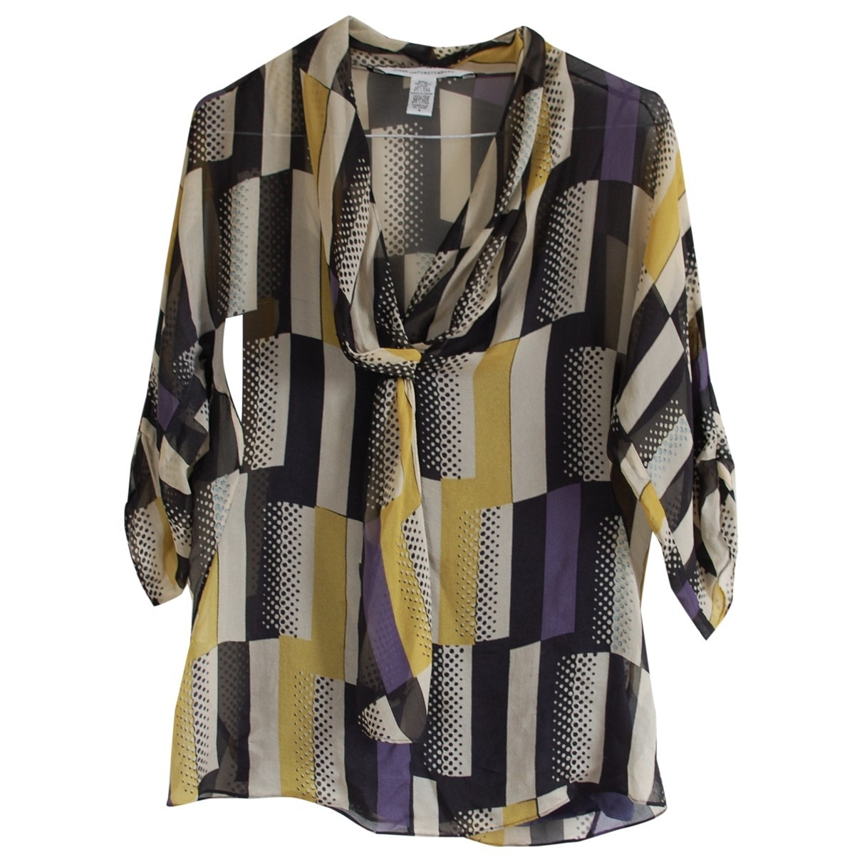 Diane Von Furstenberg \N Multicolour Silk  top for Women 4 US