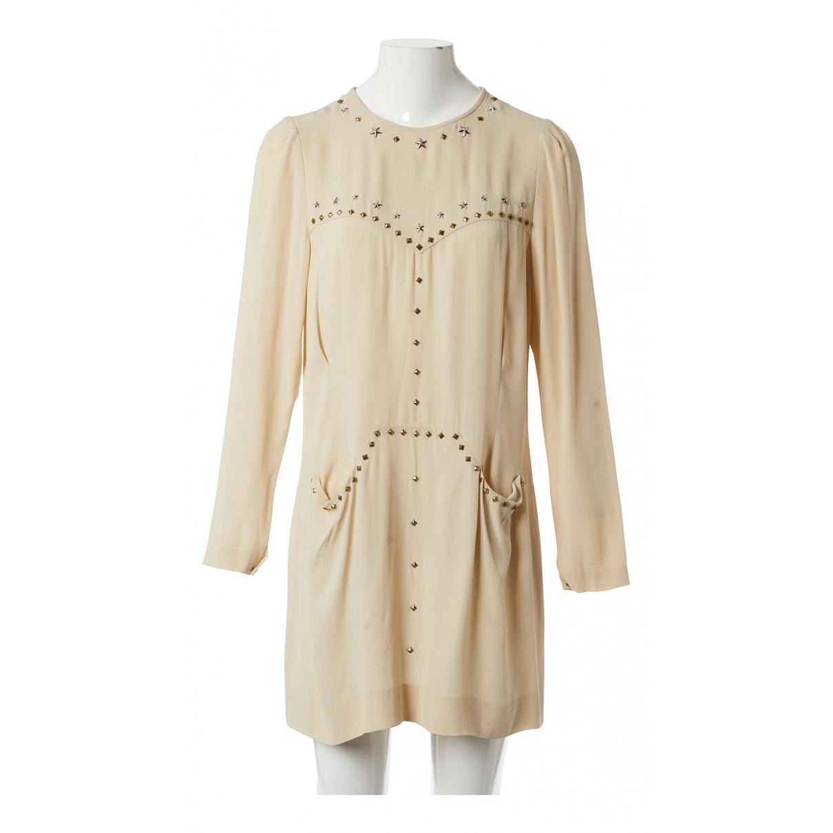Isabel Marant \N Kleid in  Beige Viskose