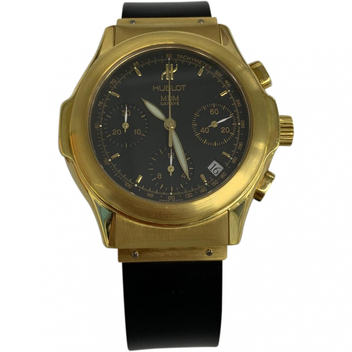 Hublot MDM Black Yellow gold watch for Men \N