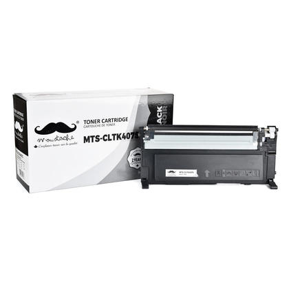 Compatible Samsung CLP-320N Black Toner Cartridge - Moustache