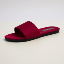 Minimalistische Sandalen mit offener Zehenpartie