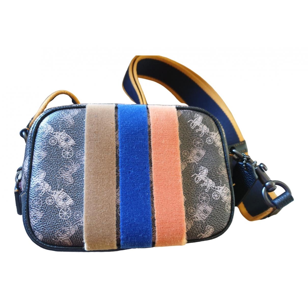 Coach \N Multicolour Leather handbag for Women \N