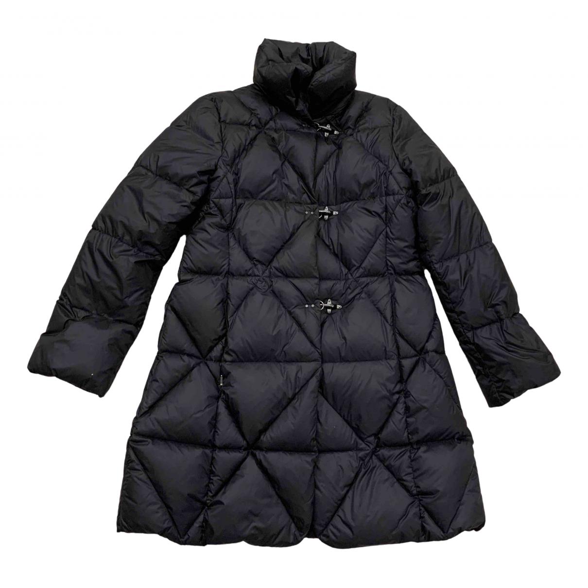 Fay N Black coat for Women XXL International