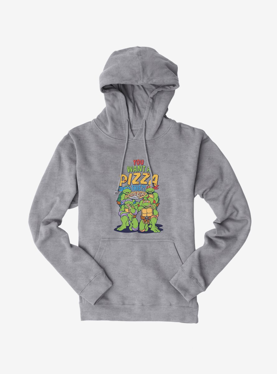 Teenage Mutant Ninja Turtles You Want A Pizza This Group Hoodie