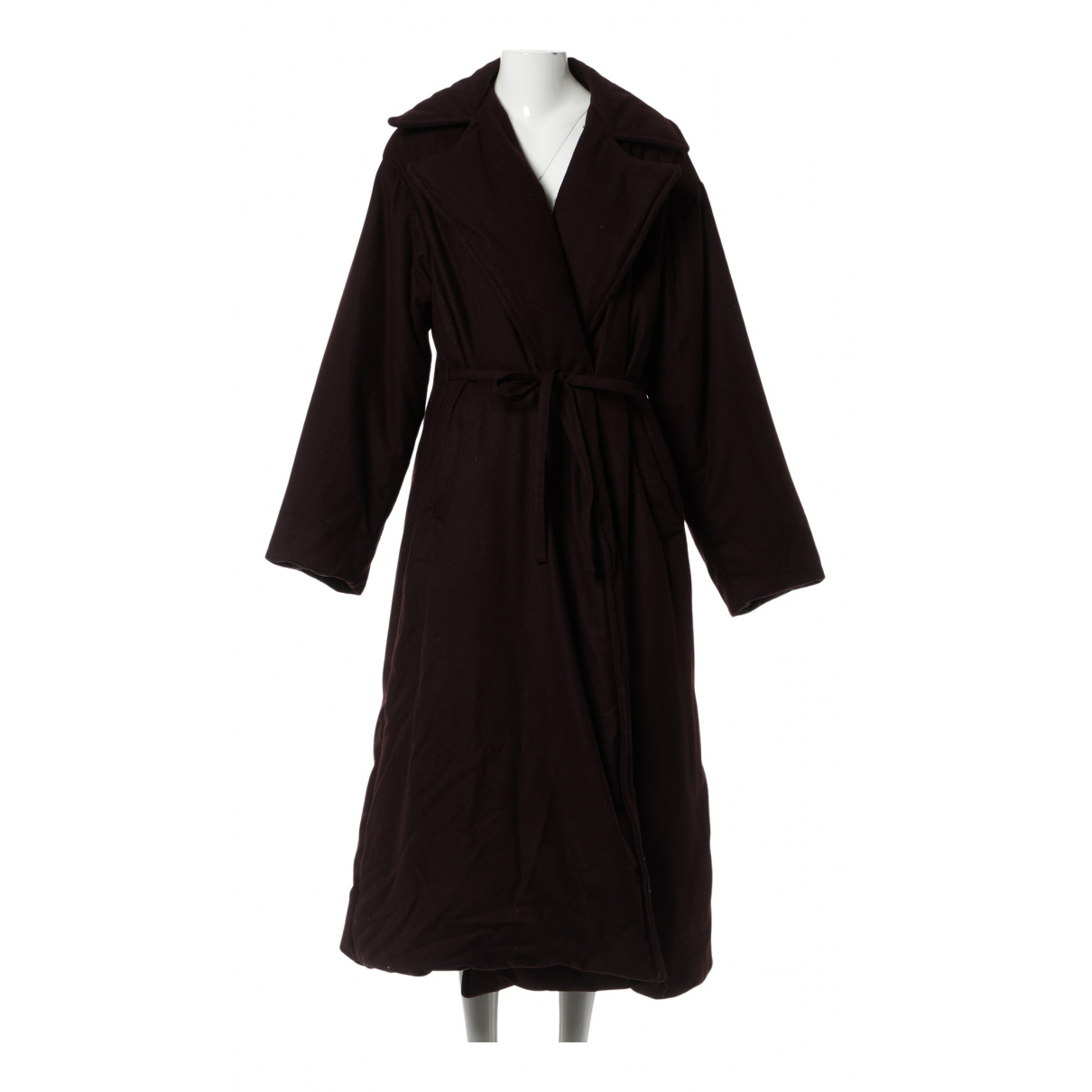 Dries Van Noten - Manteau   pour femme en laine - violet
