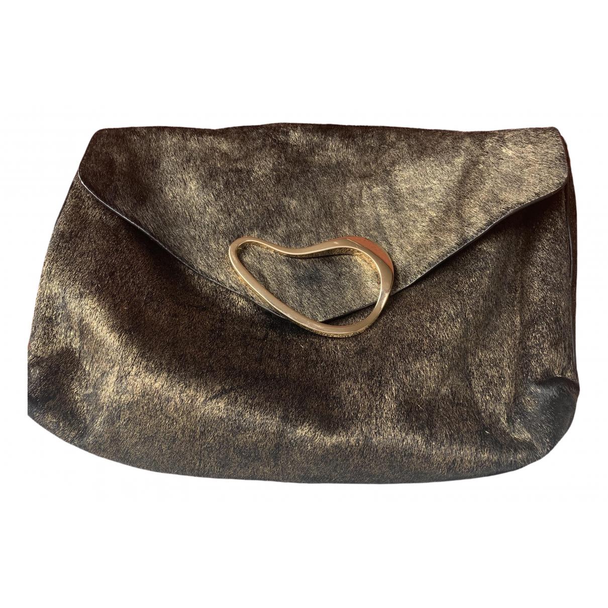 Zara \N Gold Clutch bag for Women \N