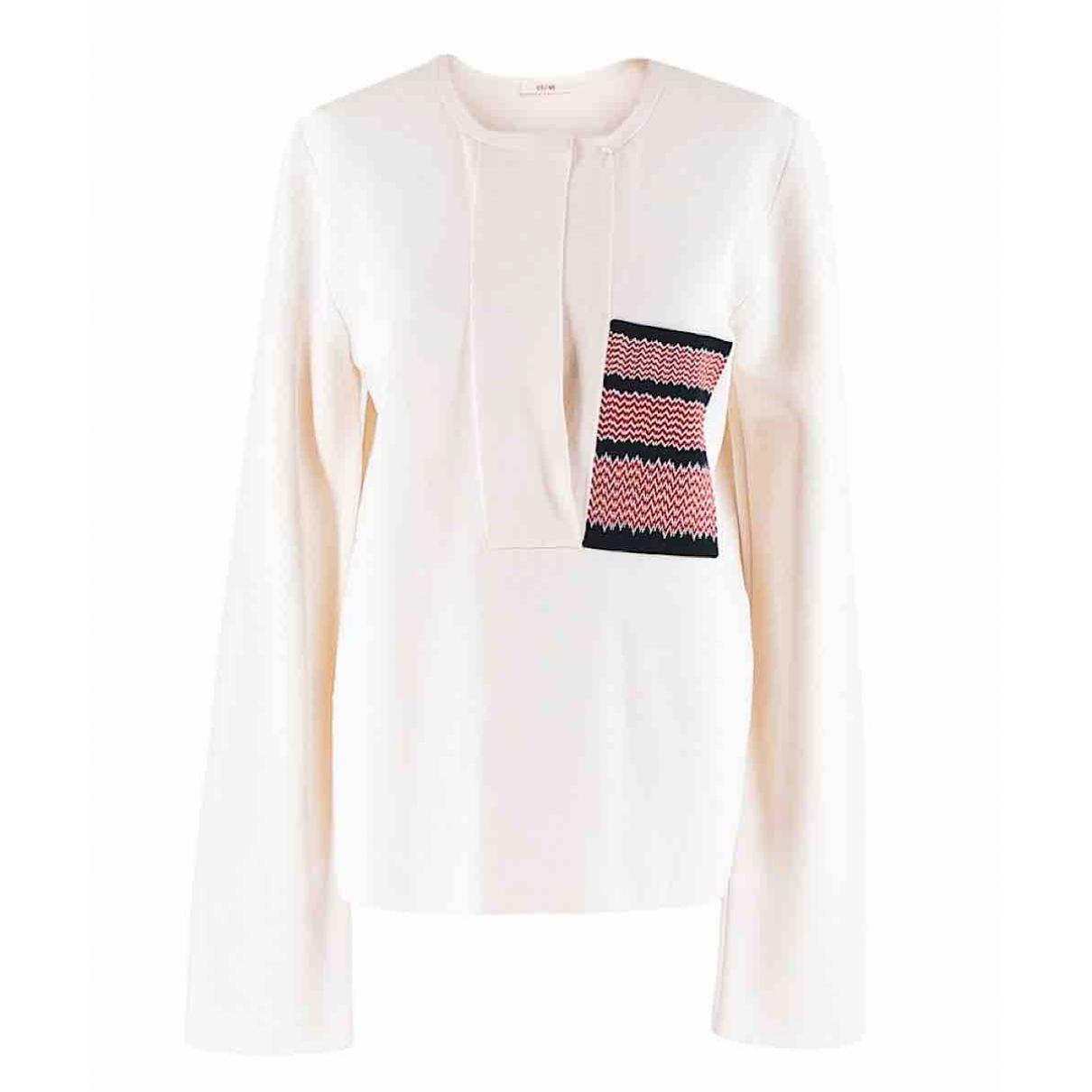Celine \N Ecru Silk Knitwear for Women L International