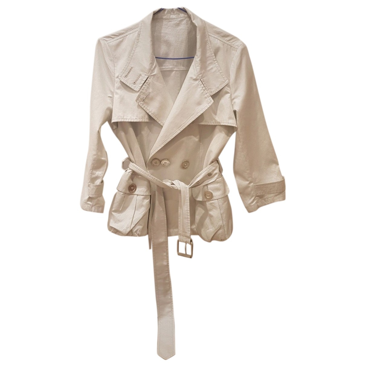 Burberry \N Silver jacket for Women 42 FR