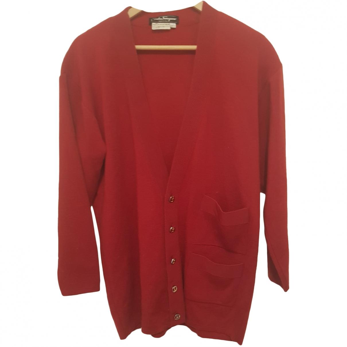 Salvatore Ferragamo - Pulls.Gilets.Sweats   pour homme en laine - rouge
