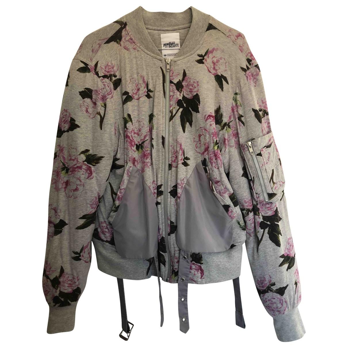 Jeremy Scott Pour Adidas \N Anthracite Cotton jacket  for Men M International