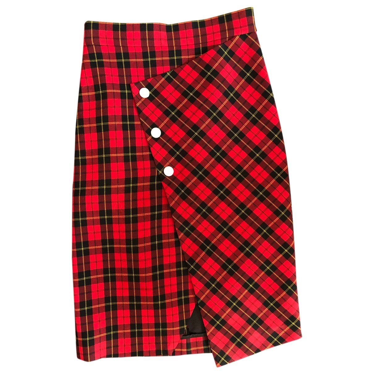 Maje Fall Winter 2019 Red Cotton skirt for Women 36 FR