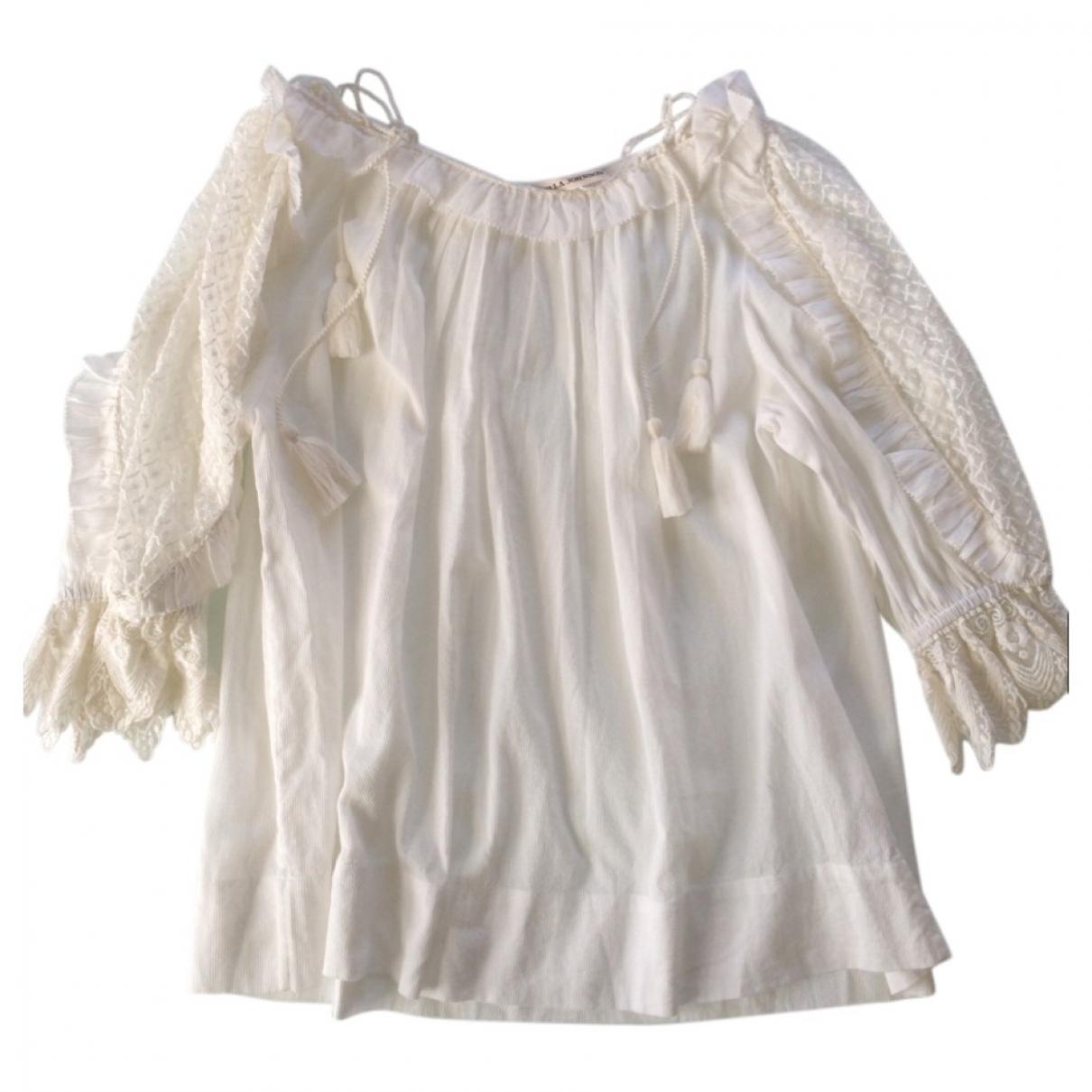 Ulla Johnson \N Ecru Cotton  top for Women 34 FR