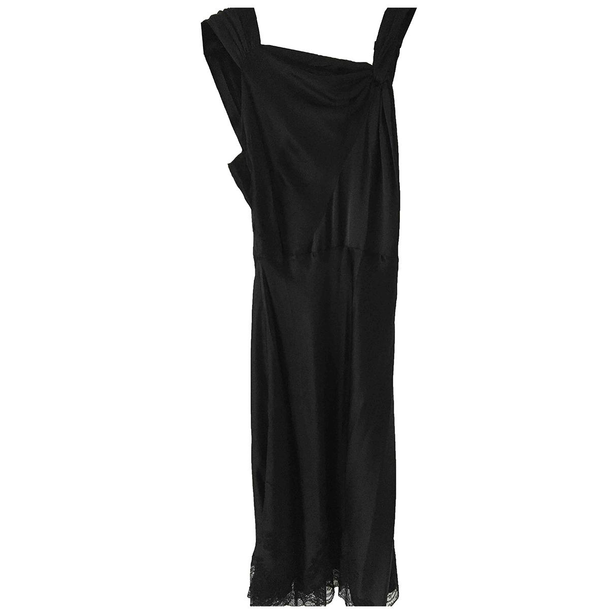 Carine Gilson - Robe   pour femme en soie - noir
