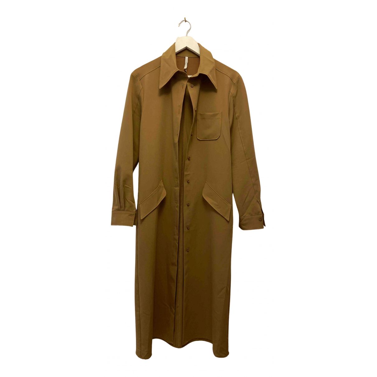 Impérial N Beige Cotton - elasthane dress for Women M International