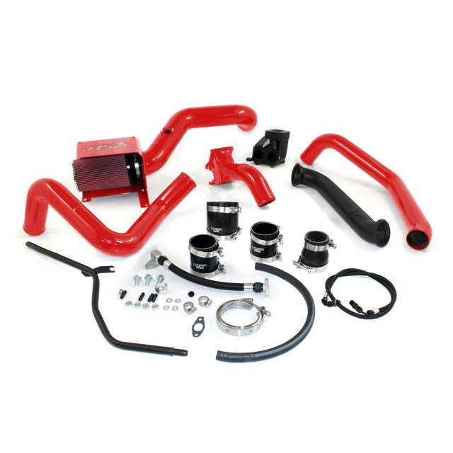 2004.5-2005 Chevrolet / GMC S300 Single Install Kit No Turbo Blood Red HSP Diesel 214-HSP-BR