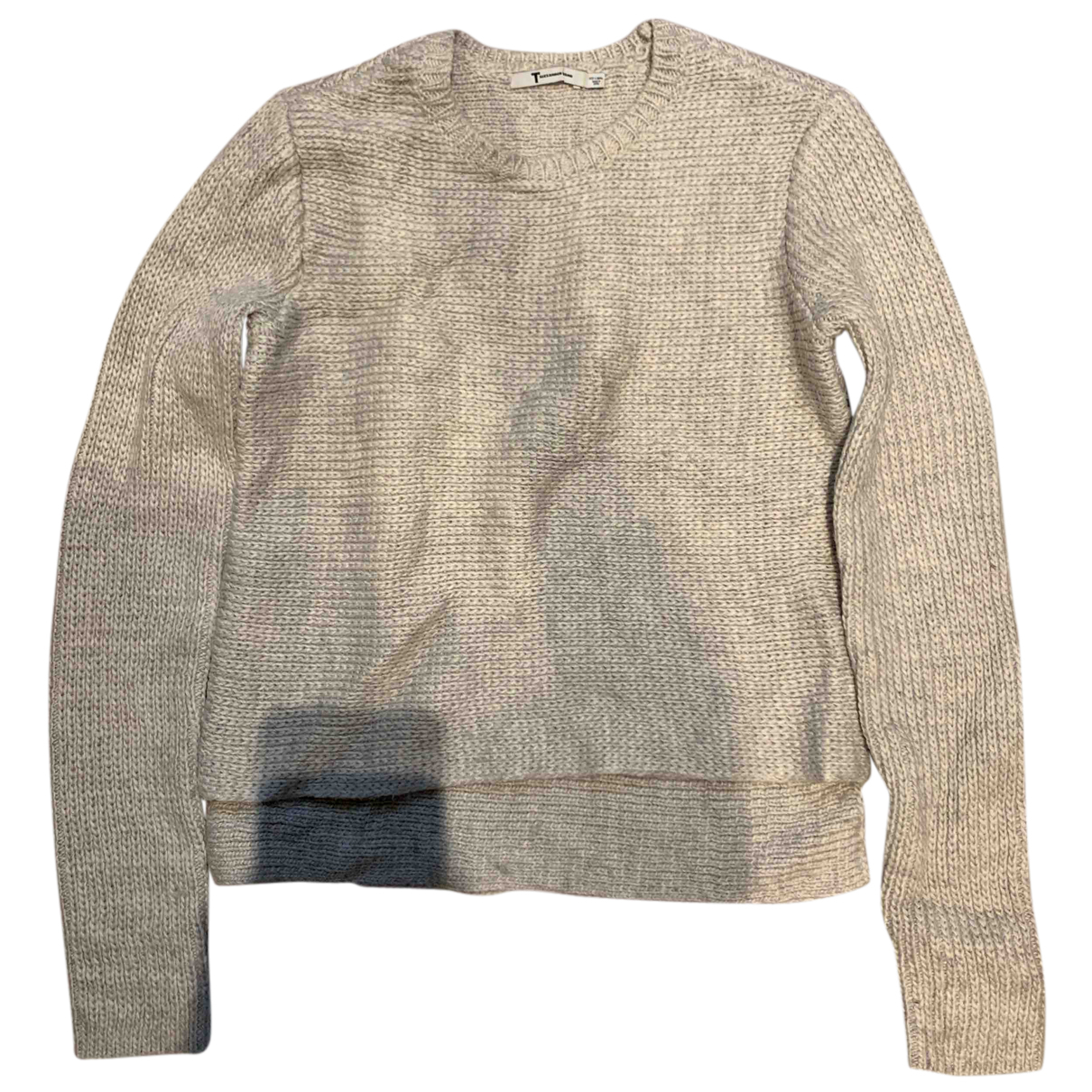 T By Alexander Wang - Pull   pour femme - gris