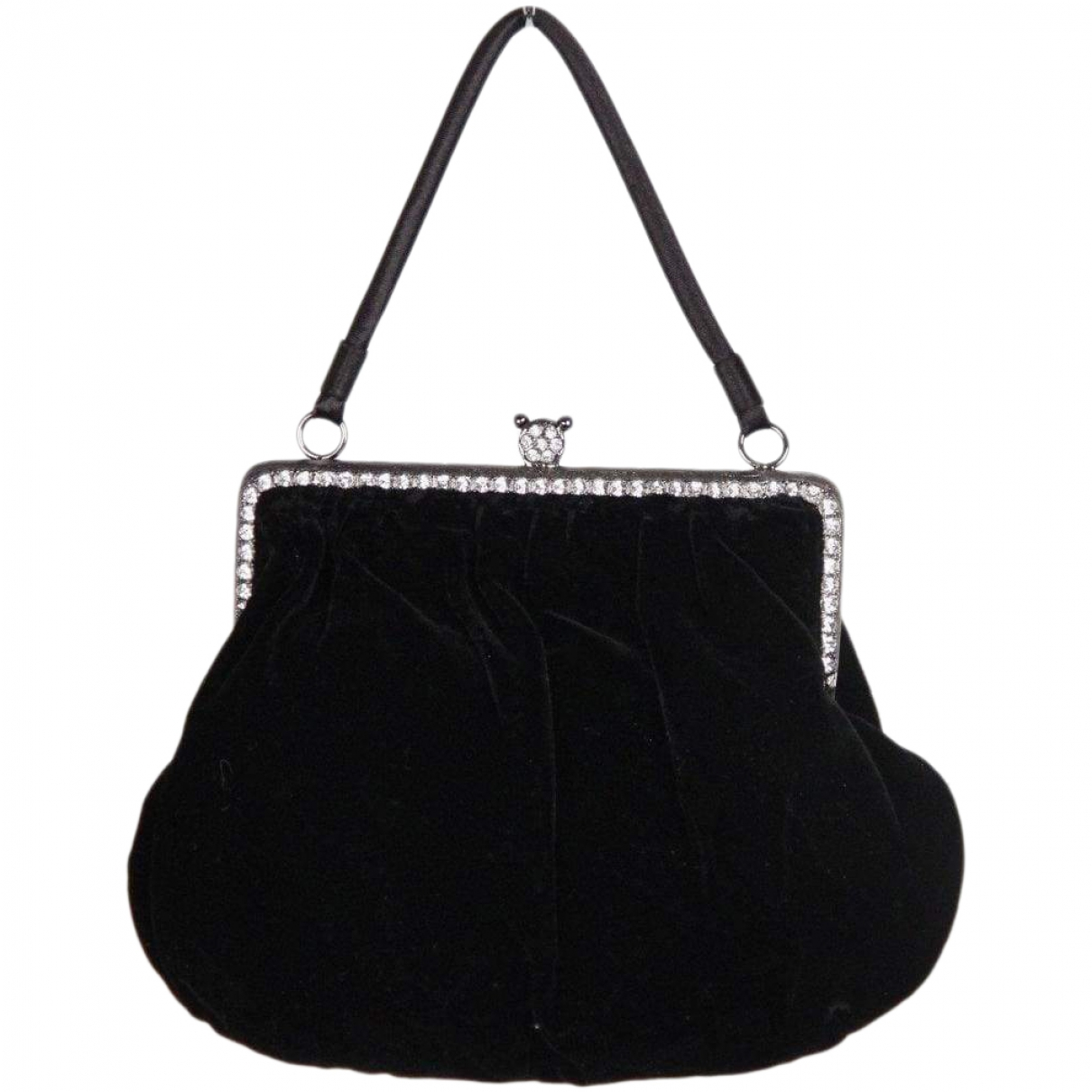 Non Signé / Unsigned \N Velvet Clutch bag for Women \N