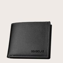 Maenner Minimalistische kurze Geldborse und Kartenhalter