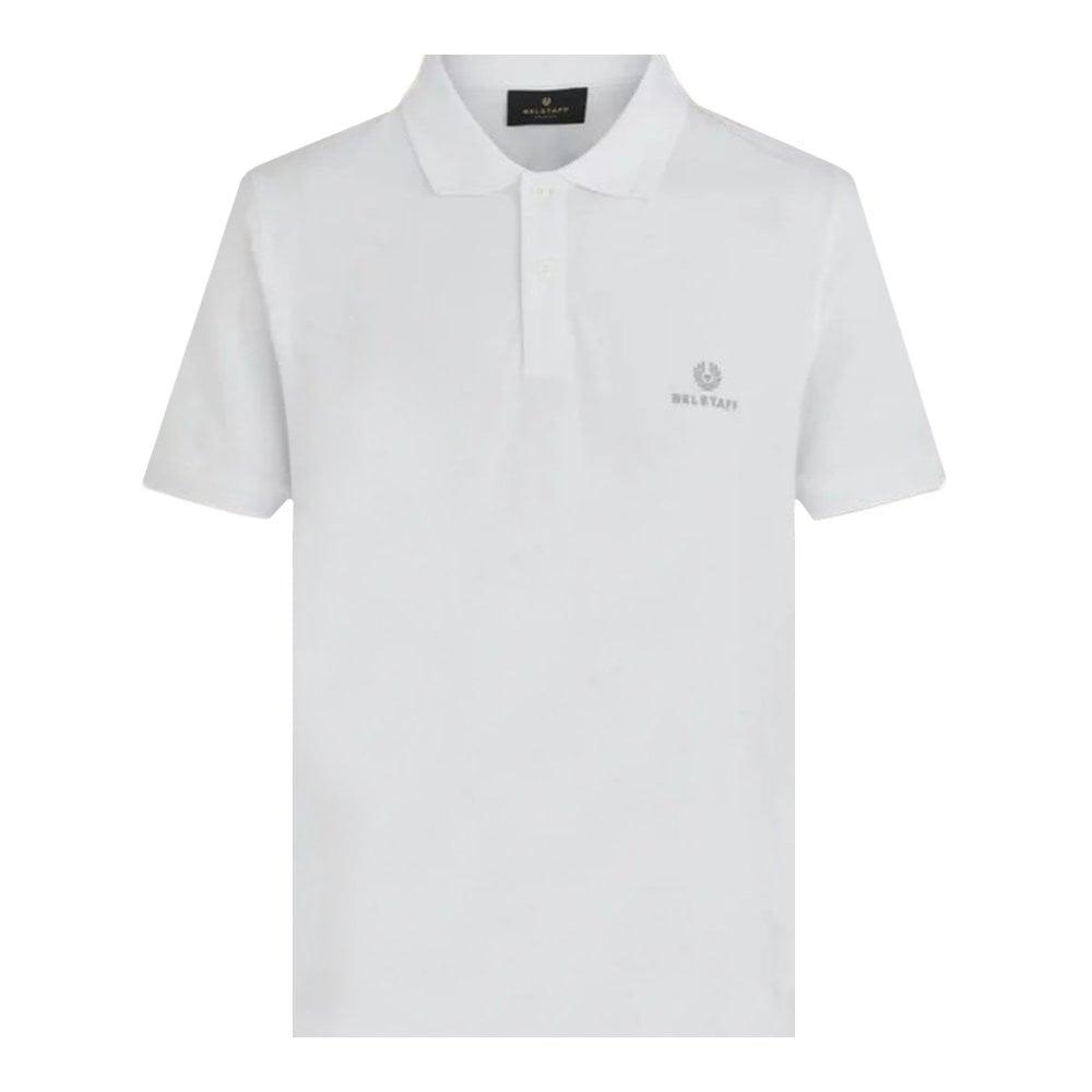 Belstaff Short Sleeve Polo Colour: WHITE, Size: MEDIUM