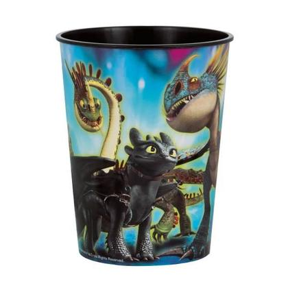 Dragon 1 16 oz. Plastic Cup Pour la fête d'anniversaire