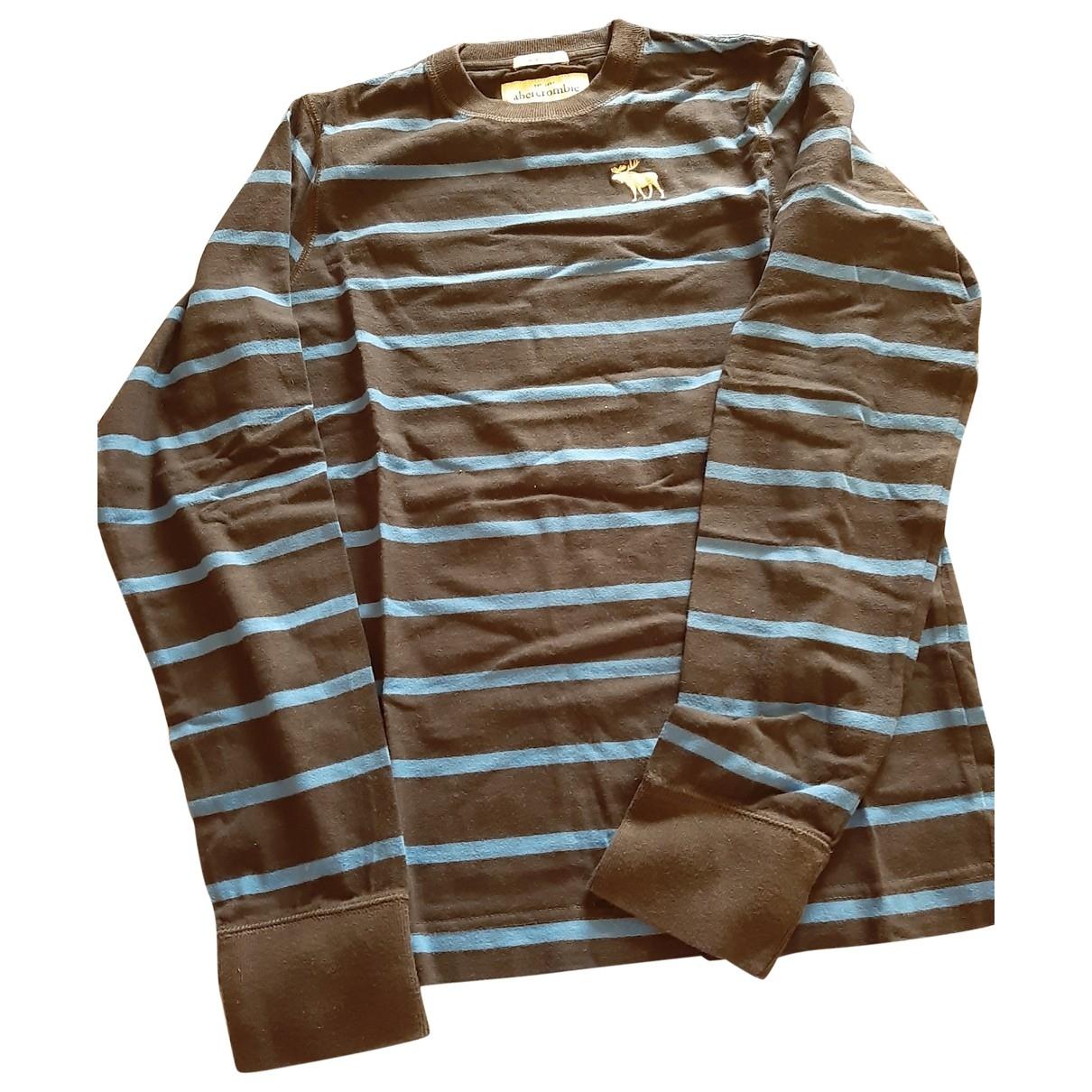Abercrombie & Fitch - Pull   pour enfant en coton - bleu