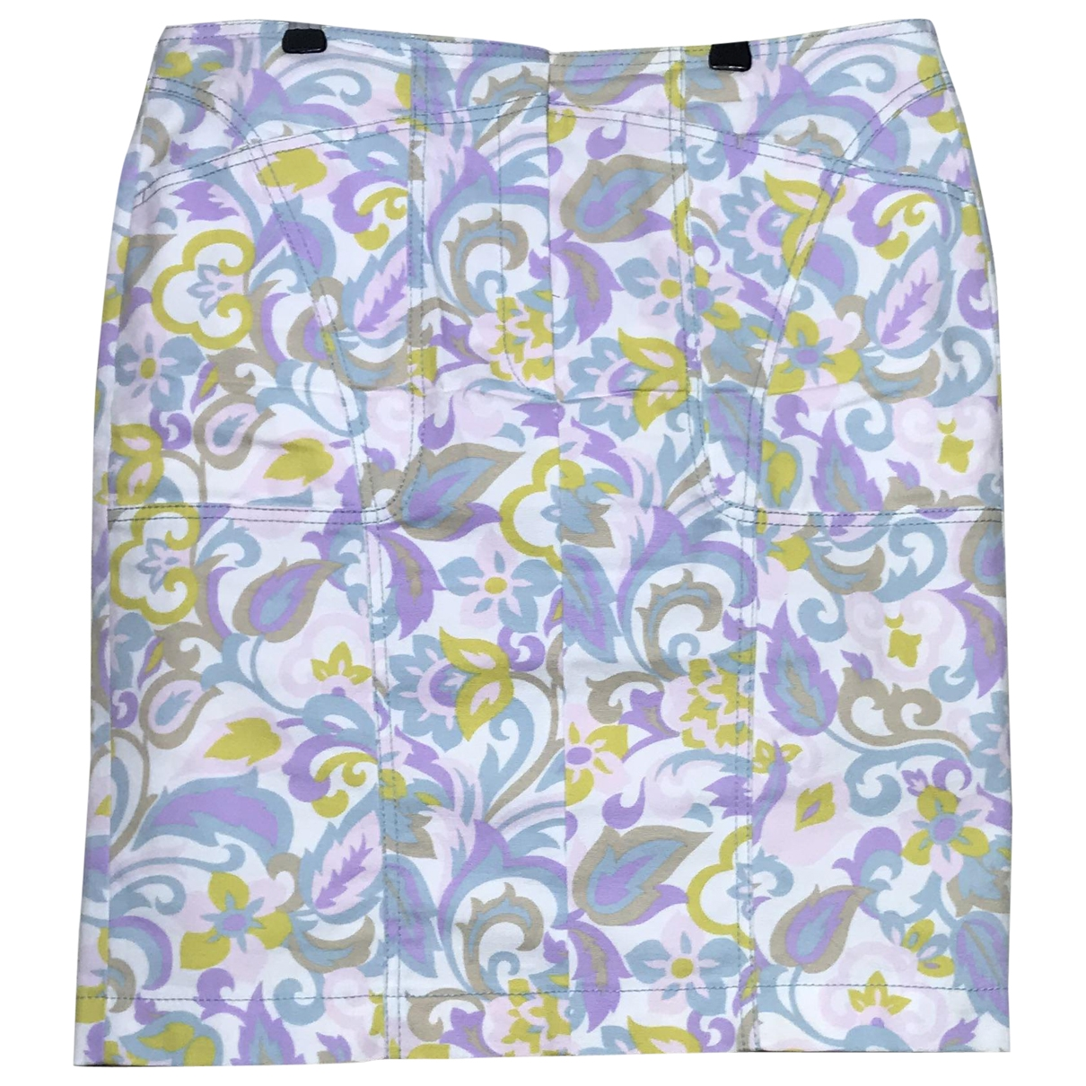 Escada \N Multicolour Cotton skirt for Women 40 FR