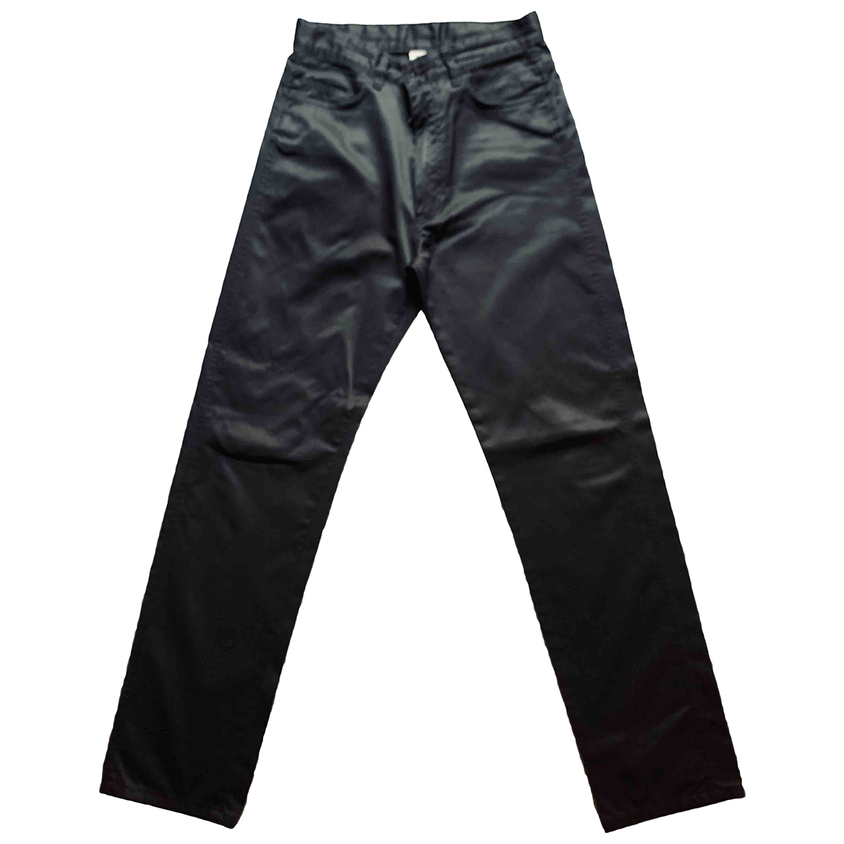 Jean Paul Gaultier N Black Cotton Trousers for Men S International