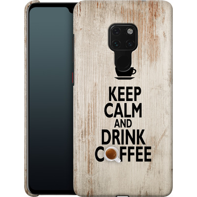 Huawei Mate 20 Smartphone Huelle - Drink Coffee von caseable Designs