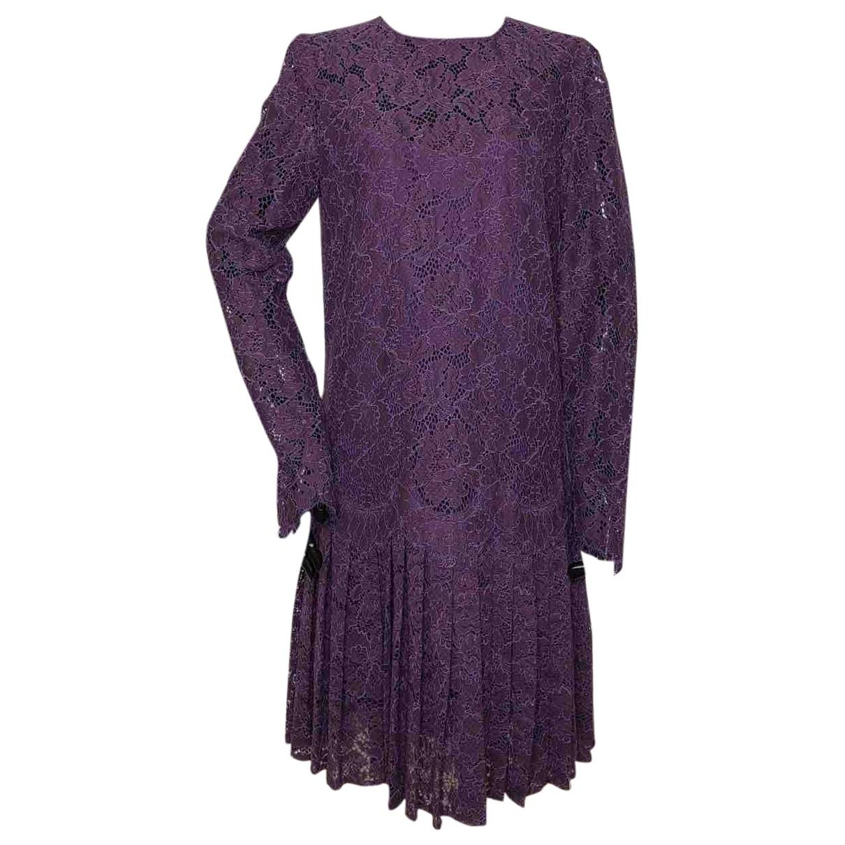 Ermanno Scervino \N Purple dress for Women 42 IT