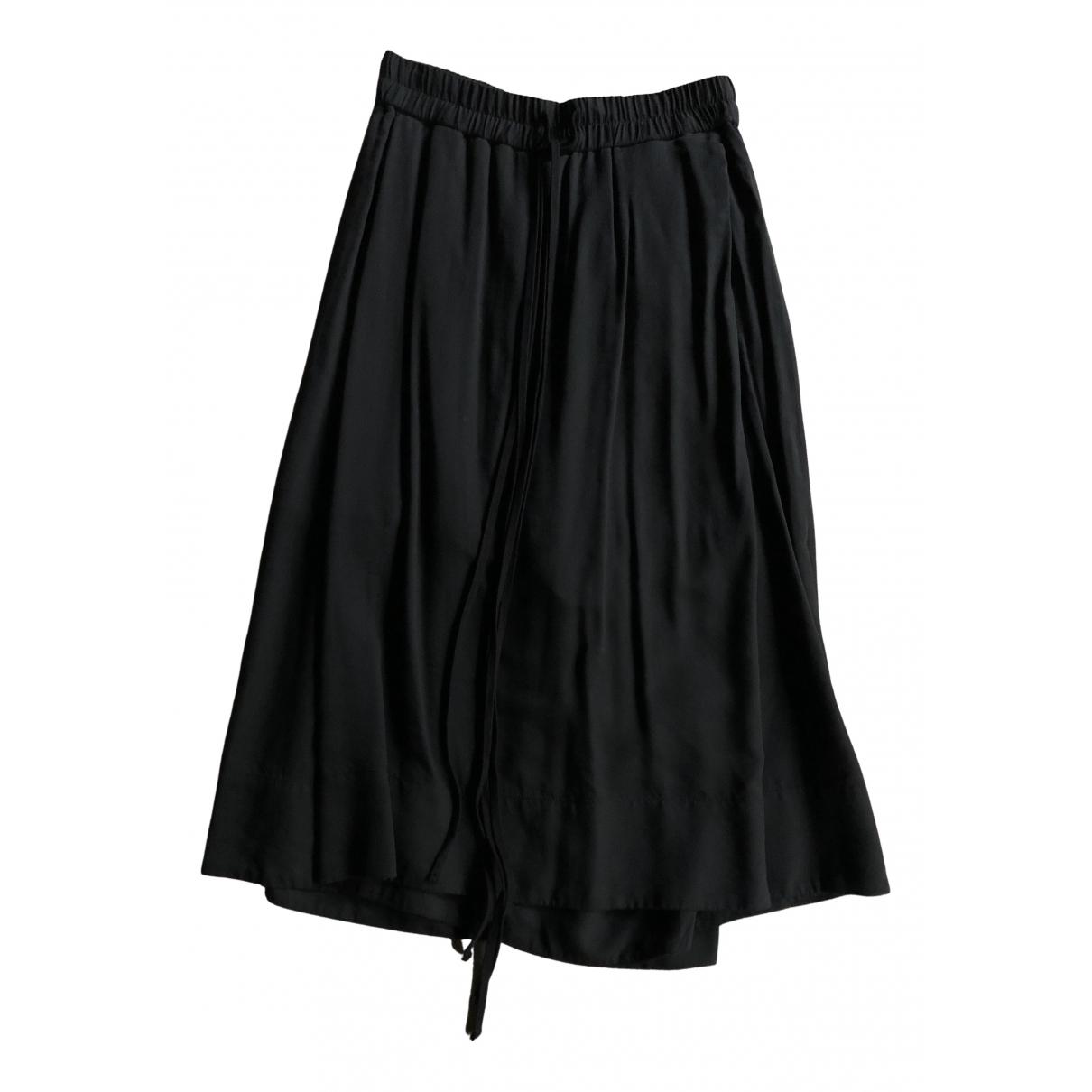 Pantalon en Algodon Negro Julius 7