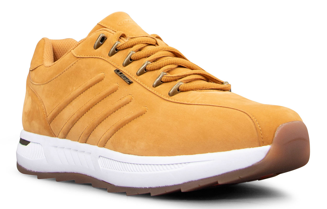 Men's Phoenix Oxford Sneaker (Choose Your Color: GOLDEN WHEAT/WHITE/GUM, Choose Your Size: 11.5)