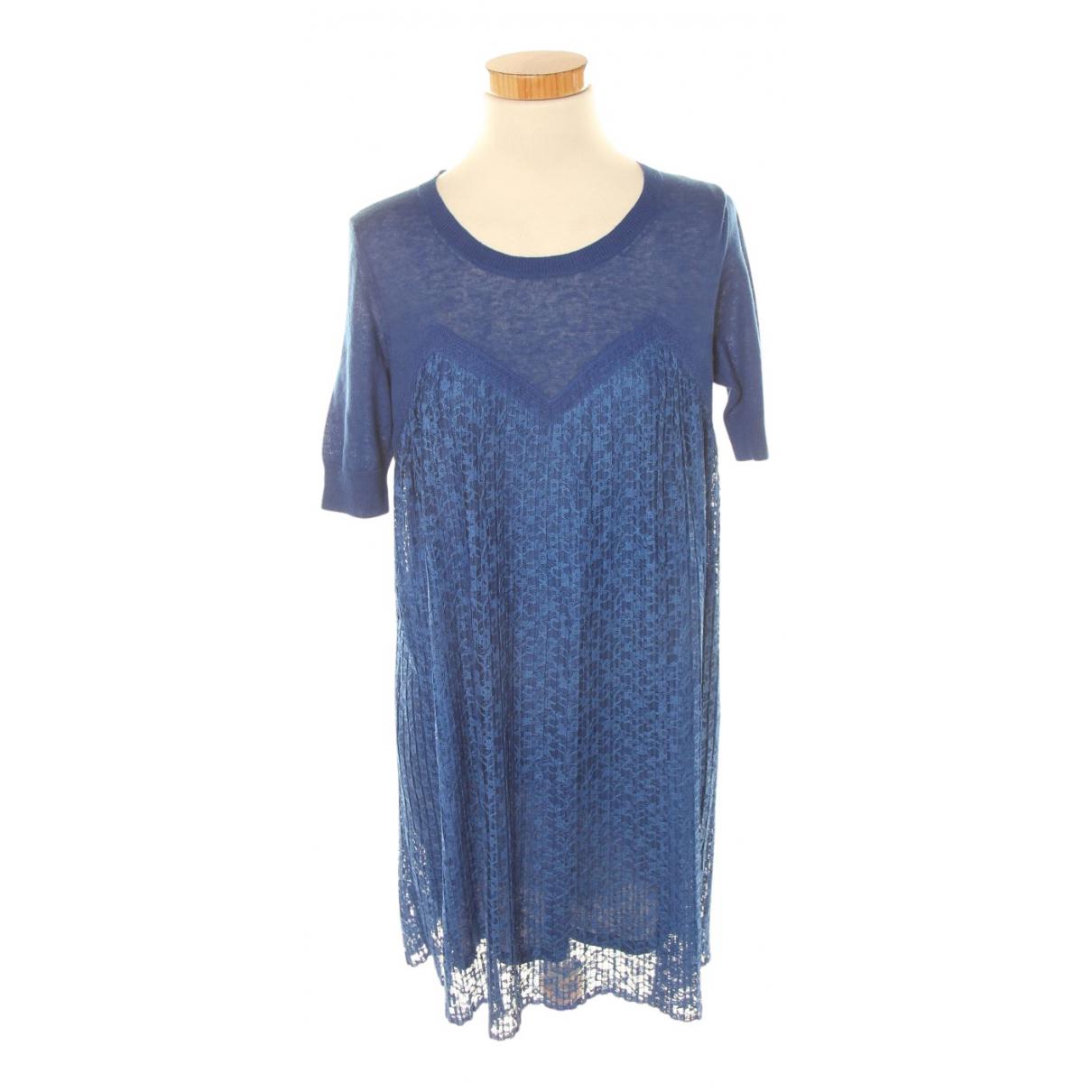 Sandro N Blue Linen dress for Women L International