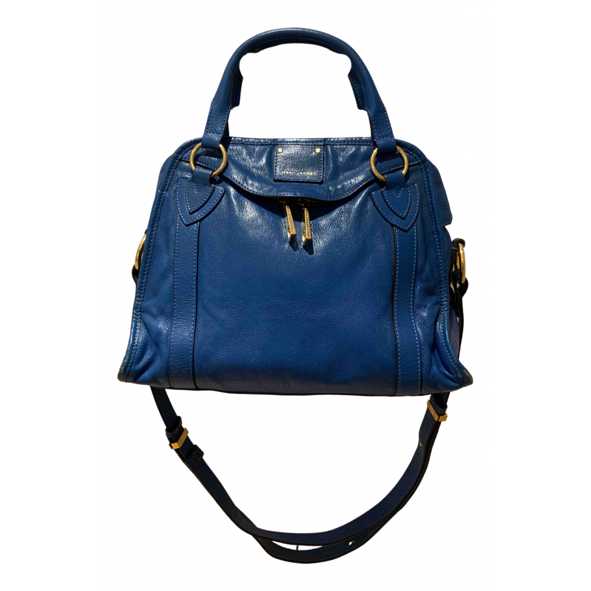 Marc Jacobs \N Handtasche in  Blau Leder