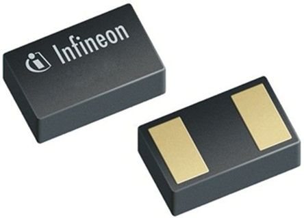 Infineon ESD101B102ELE6327XTMA1, Bi-Directional TVS Diode, 30W, 2-Pin TSLP (100)