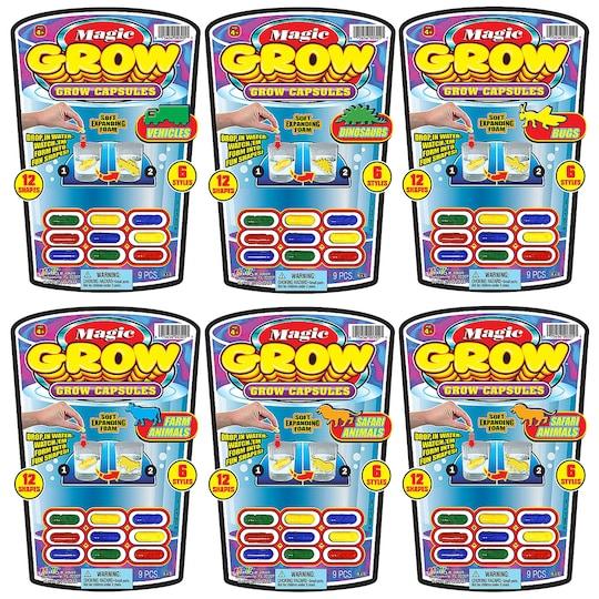 24 Pack of Ja-Ru® Magic Grow™ Capsules | Michaels®