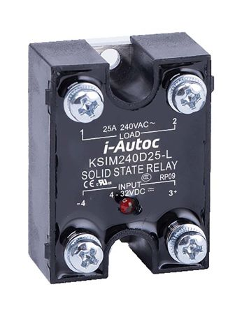 i-Autoc 10 A Solid State Relay, Zero Cross, Panel Mount, TRIAC, 440 V ac Maximum Load