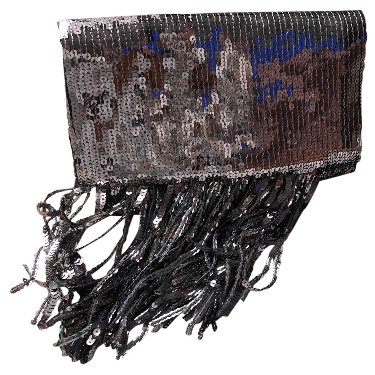 Galvan London \N Clutch in  Metallic Mit Pailletten