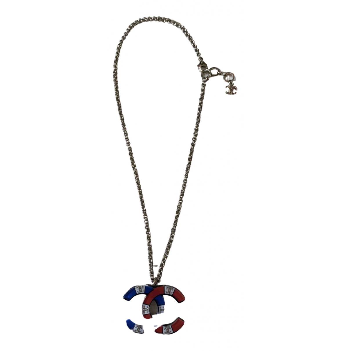 Chanel - Collier CC pour femme - multicolore