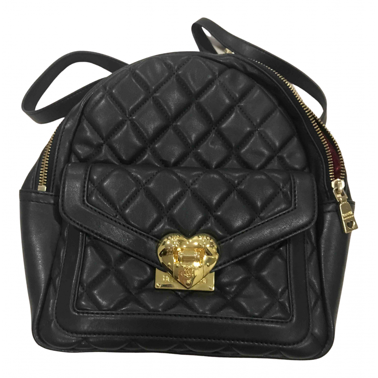 Moschino Love N Black backpack for Women N